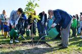 Президент Латвии открыл парк счастливых деревьев