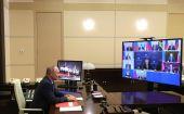 Владимир Путин провел совещание с членами Совета Безопасности