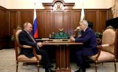 Владимир Путин встретился с президентом ФГБУ «Национальный медицинский исследовательский центр эндокринологии»