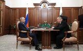 Владимир Путин встретился с главой Торгово-промышленной палаты