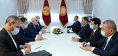 Президент Кыргызстана встретился с министром иностранных дел Ирана