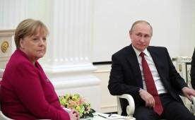 В Кремле проходят российско-германские переговоры