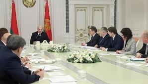 Александр Лукашенко провел совещание с руководителями государственных СМИ