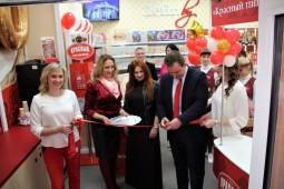 Белорусский пищевой производитель открыл юбилейный магазин