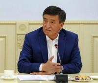 Президент Кыргызстана вернулся из Москвы
