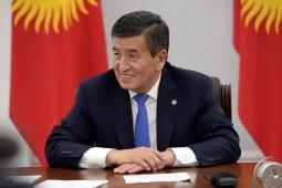 Президент Кыргызстана сдал отрицательный тест на коронавирус