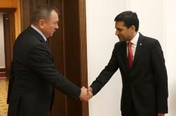 Глава белорусского МИД встретился с делегацией МККК