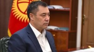 Президент Кыргызстана перешел на удаленный режим работы