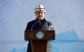 Садыр Жапаров направил приветствие в связи с годовщиной вывода войск из Афганистана