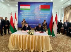 Представители Белоруссии и Таджикистана обсудили вопросы экономики