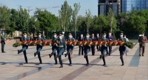 В Бишкеке состоялся митинг-реквием по случаю 76-летия Победы в Великой Отечественной войне